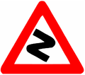 Winding road (Israel road sign).png