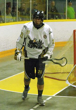 Box lacrosse - Windsor Clippers (OJBLL) runner in 2014.
