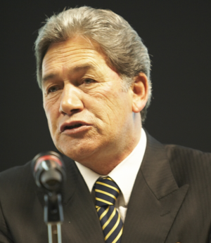 New Zealand general election, 1993 - Image: Winston Peters cropped