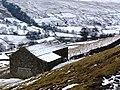Winter barn at Ivelet Heads - geograph.org.uk - 1727699.jpg