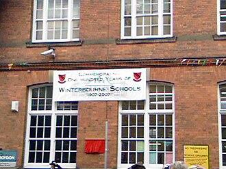 Winterbourne Junior Boys' School - Image: Winterbourne Centenary 1