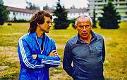 Wolfgang Overath und Hennes Weissweiler 1976a