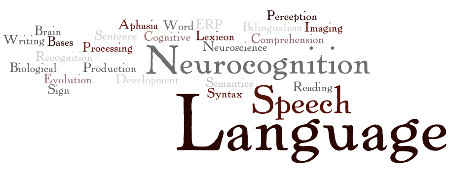 "Logo of the Book ""Neurocognition of Language"""
