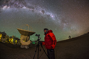 Infrared astronomy - Image: Wrapped Up for the Cool Cosmos