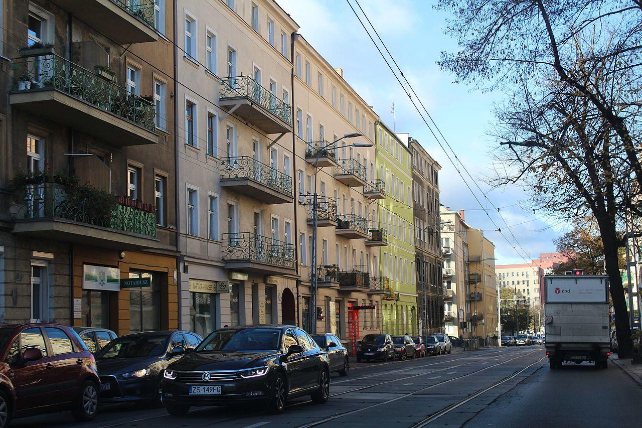 Plikwyzwolenia Avenue In Szczecin Autumn 2016 4jpg Wikipedia