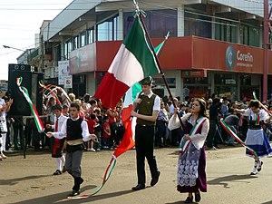 XXXIV Fiesta Nacional del Inmigrante - desfile - colectividad italiana.JPG