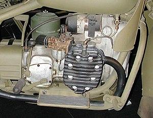 Harley-Davidson XA - Harley-Davidson XA opposed-twin engine runs 100 °F cooler than a V-twin