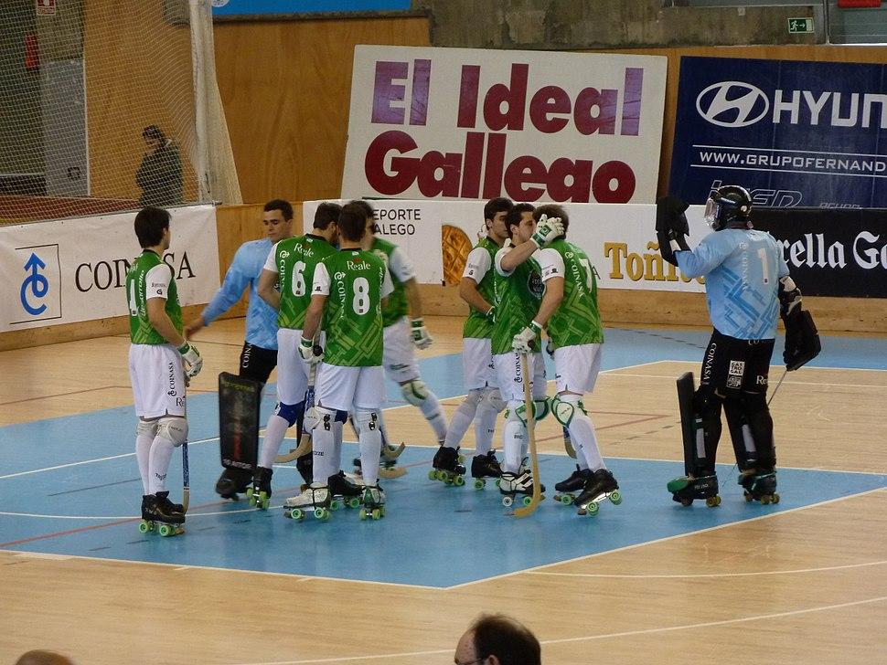 Xuntanza HC Liceo, Pazo dos deportes Riazor, A Coruña, HC Liceo vs CP Vic
