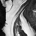 Yanert Glacier, valley glacier at junction of the northeast arm of the glacier, August 26, 1963 (GLACIERS 5100).jpg