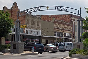 Yoakum, Texas - City center