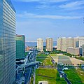 Yokohama Portside Roi Ichibankan view of Port of Yokohama.jpg
