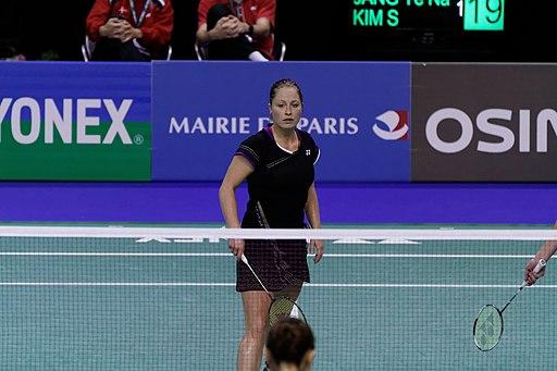 Yonex IFB 2013 - Eightfinal - Line Damkjær Kruse - Marie Røpke — Jang Ye-na - Kim So-youngi 15