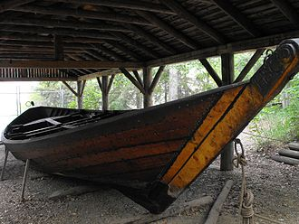 Fort Edmonton Park - York boat