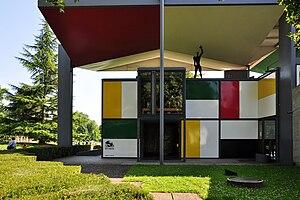 Pavillon Le Corbusier - Image: Zürich Seefeld Centre Le Courbusier IMG 1115 Shift N