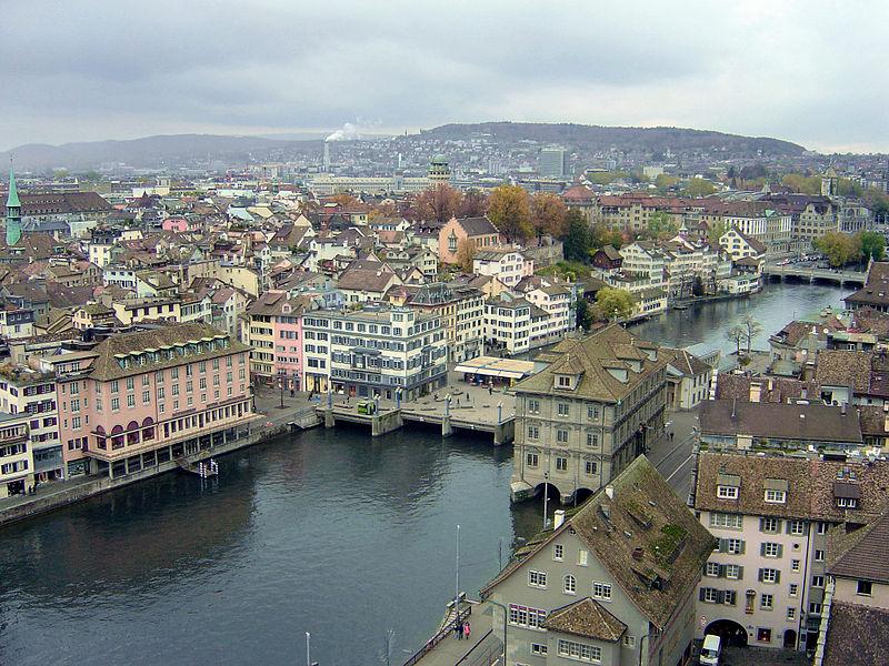 Datei:Zürich river.jpg