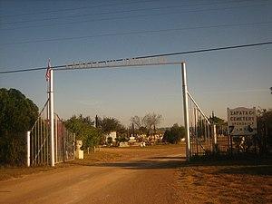 Zapata County, Texas - Image: Zapata County, TX, Cemetery IMG 2055