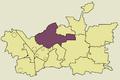 Zawiercie Blanowice location map.png