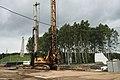 Zelenograd, Leningradskoe Highway, interchange construction (21060782149).jpg