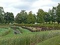 Zespół zamkowy (XV-XVIw.) ogród (fot. 1) - Kodeń powiat bialski woj. lubelskie ArPiCh A-55.JPG