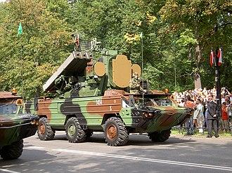 9K33 Osa - The Polish OSA-AKM