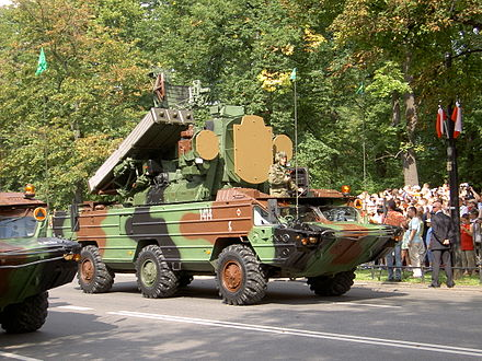 The Osa was the first system to include search, track and missiles all on a single mobile platform. Zestaw przeciwrakietowy Osa.JPG