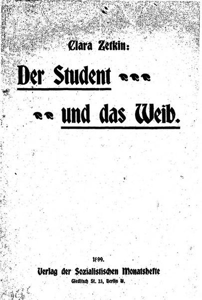File:Zetkin Der Student und das Weib.djvu