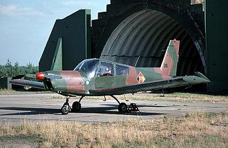 Zlín Z 43 - Zlín Z-43 at Preschen Air Base