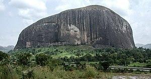 Zuma Rock - Image: Zuma Rock