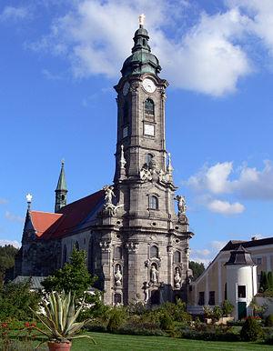 Zwettl Abbey - Zwettl Abbey Church in Zwettl, Austria