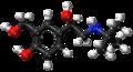 (R)-Salbutamol ball-and-stick model.png