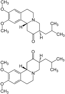 (RR,SS)-Tetrabenazine Structural Formulae.png