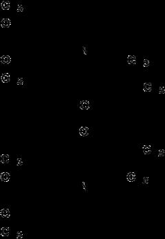 Strukturformel von Tetrabenazin
