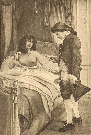 Fanny Hill - Illustration by Édouard-Henri Avril.