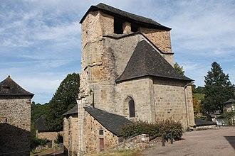 Albignac - The church of Our Lady, in Albignac