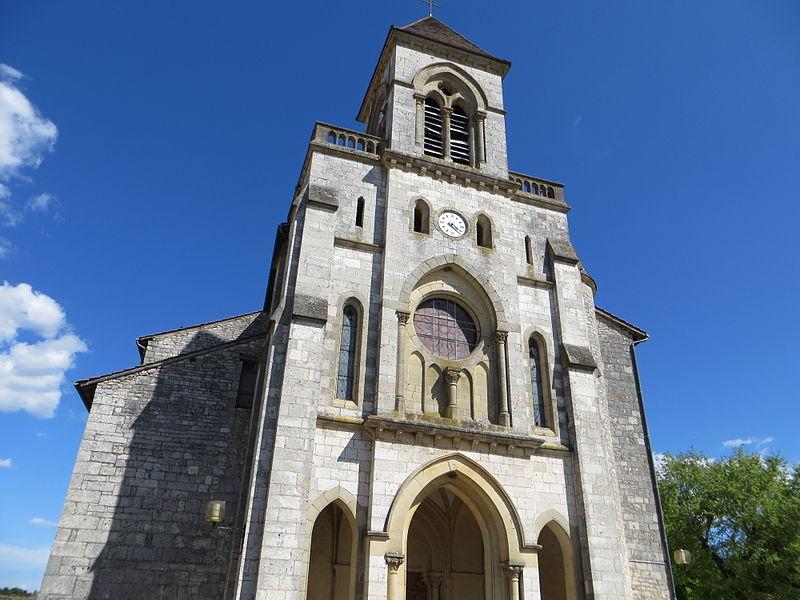 Église Saint-Quirin de Lalbenque,  (Inscrit, 1925)