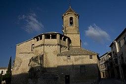 Úbeda-Iglesia San Pablo-Abside-Campanario-20110919.jpg