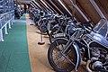 ČZ motorcycles in the Pořežany museum 01.jpg