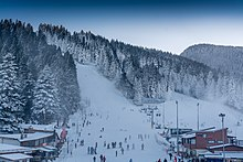 Borovets resort slopes