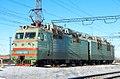 ВЛ80Т-1813, Kazakhstan, Karaganda region, Karaganda-Sorting station (Trainpix 213751).jpg