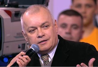 Dmitry Kiselyov Russian journalist