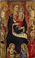 Мадонна с младенцем, четырьмя святыми и четырьмя ангелами.jpg