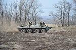 Механізовані підрозділи 92-ї окремої механізованої бригади відбили напад умовного противника.jpg