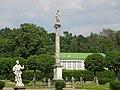 Москва - Кусково, парк, колонна со статуей Минервы.jpg