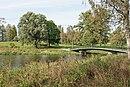 Парк Мариенталь в Павловске. Горбатый мост через реку Славянку.jpg