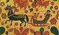 Пермогорская роспись. Прялка. Фрагмент. Конец 19 века.jpg
