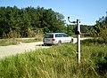 Рэшткі абсталяванага чыгуначнага пераезда з працягам вул. Кар'ернай - panoramio.jpg