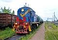 ТЭМ2-2528, Россия, Новгородская область, станция Крестцы (Trainpix 215900).jpg