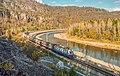 ЧС2К-897, Россия, Башкортостан, перегон Тюльма - Зуяково (Trainpix 207872).jpg