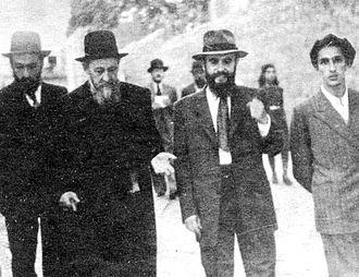 Yitzchok Zev Soloveitchik - Image: הרב מבריסק בירושלים