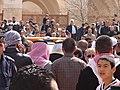 صلاة الجنازة على الشيخ حارث الضاري في مسجد الحسين بن طلال في حدائق الحسين بعمان 08.JPG